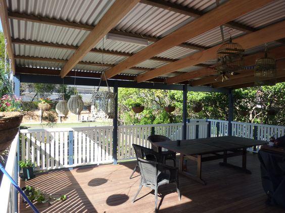 colorbond verandah roof brisbane gold coast sunshine coast