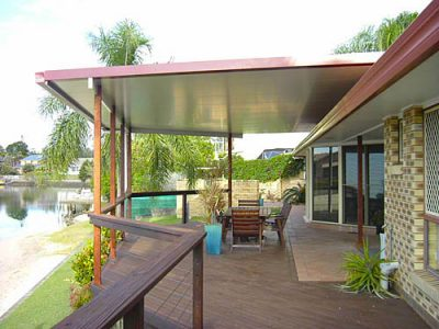 Flyover insulated patio roof brisbane